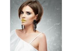 化妆模特美女