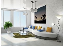 简约现代客厅装饰设计