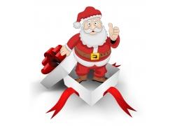 礼盒里的圣诞老人