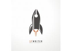 卡通飞船logo设计