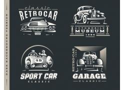 卡通汽车logo设计