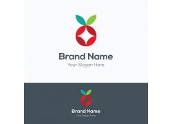 卡通水果logo设计
