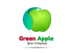 卡通苹果logo设计