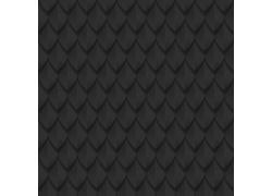 黑色立体三角形背景
