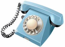 卡通电话机