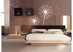 现代简约卧室装修效果