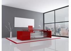 现代简约办公室装潢设计