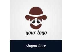 卡通小丑logo设计