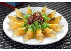 青椒皮蛋菜肴