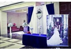 室内婚礼现场布置