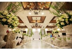 浪漫的婚礼现场布置