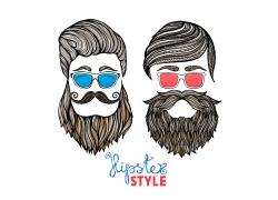 时尚男人头像设计