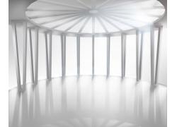 伞形空白室内设计
