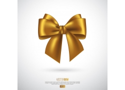 金色蝴蝶结