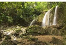 景区瀑布摄影