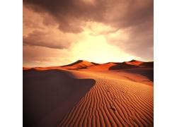 辽阔的沙漠风景