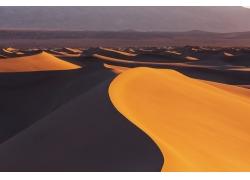 美丽沙漠沙丘景色