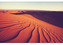 沙漠纹路风景