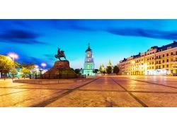 基辅广场风景