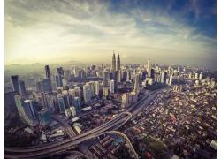 繁华的城市