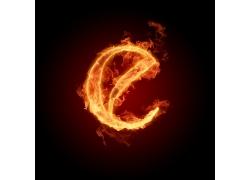 燃烧的字母效果