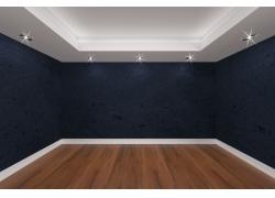 房间墙壁透视效果