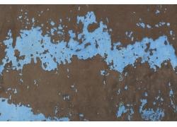 涂料脱落的墙皮背景