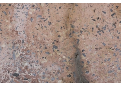 夹杂石块的墙壁纹理