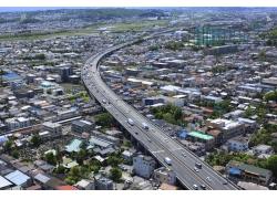 城区的立交桥摄影