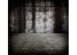 破旧的墙壁和地砖摄影