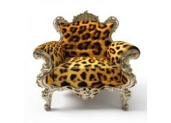 豹纹沙发椅子