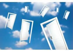 天空中的门
