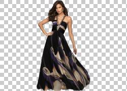 穿着长裙的外国女人图片