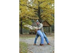 跳舞的夫妻