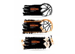 篮球运动标签设计