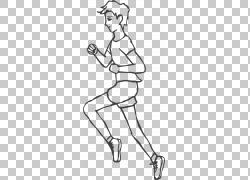 跑步的运动员