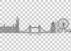 手绘建筑物图片