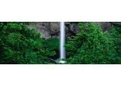 瀑布美景摄影
