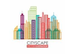 城市风光图