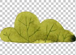 绿色树叶设计
