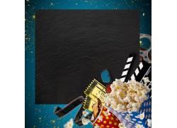 电影胶片平面纹理素材
