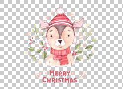 圣诞节动物