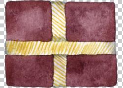 紫色手绘礼物包装图片