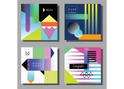 彩色卡通标签设计