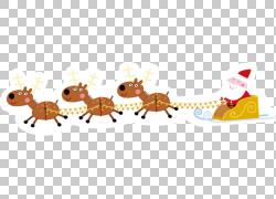圣诞老人卡通背景