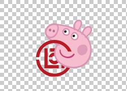 小猪佩奇服装商标