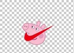 小猪佩奇耐克商标