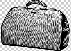 线条手提箱