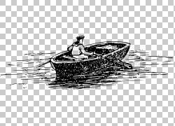 划船的人物设计图片