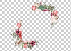 对角矩形鲜花